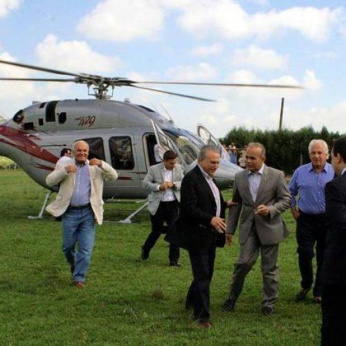 Temer viajou em helicóptero de empresa alvo na lava jato