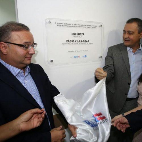 """""""Melhores equipamentos de UTI do mundo estão em Cajazeiras"""", garante Rui em inauguração"""