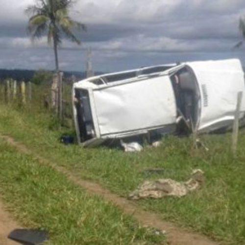 Acidente deixa duas pessoas mortas na estrada Conquista-Itapetinga