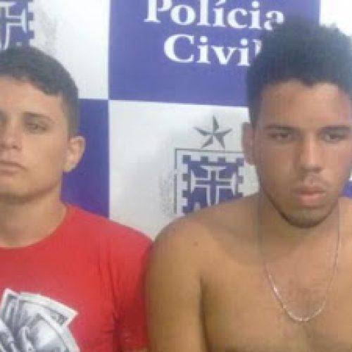 Jequié: Acusados de matar jovem durante assalto são presos pela Polícia Civil