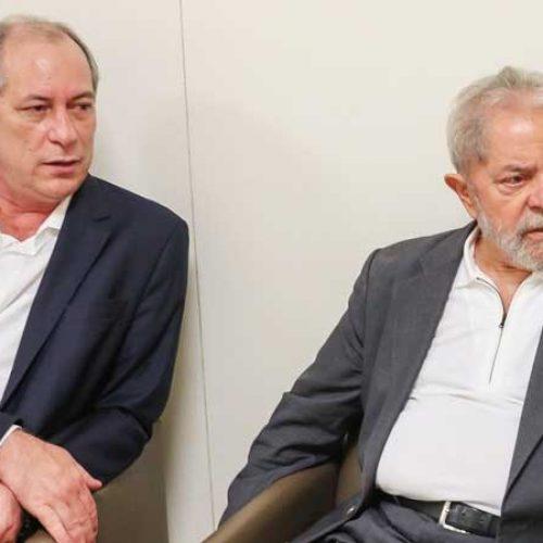 Lula é 'culpado' pela ascensão do PMDB, diz Ciro Gomes