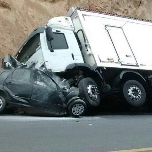 Colisão entre carro e caminhão mata motorista na Serra do Mutum