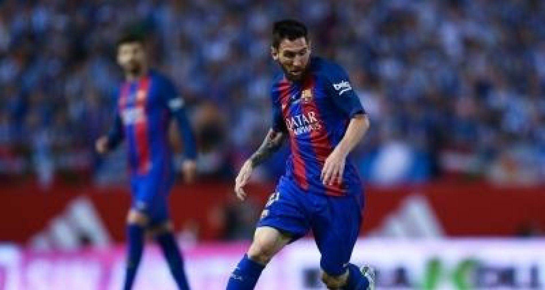 Contrato de Messi é renovado pelo Barcelona até junho de 2021