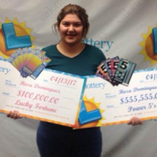 Em uma semana, jovem ganha duas vezes na loteria