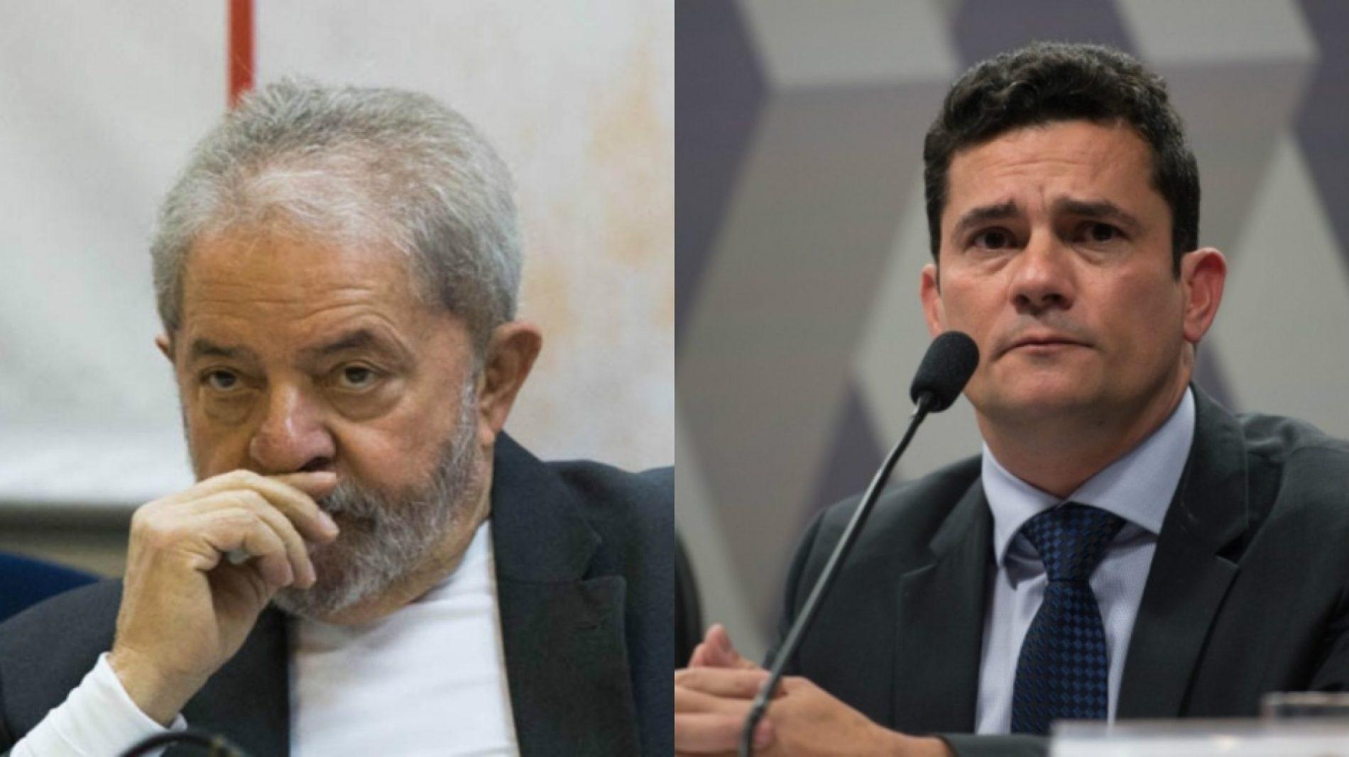 Lula encara Moro hoje pela segunda vez