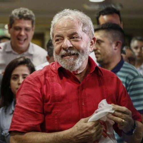 PT e movimentos sociais fazem amanhã ato pró-Lula 2018