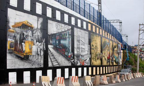 Painel do projeto Mais Grafite é concluído em Pirajá