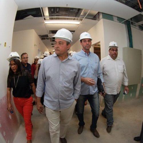 Jequié: Rui entrega ampliação de centro de bioimagem do Prado Valadares e vistoria obras