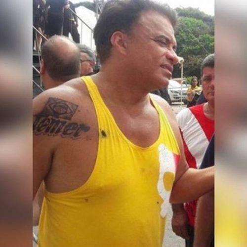 Tatuagem de Henna? Tatuagem de deputado com nome de Temer pode sair com água e sabão, diz tatuador