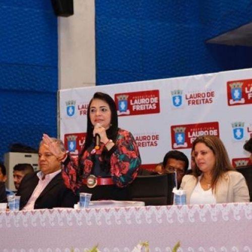 Prefeita apresenta balanço de ações e anuncia obras que vão transformar Lauro de Freitas