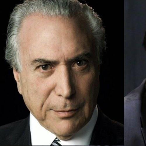 Temer recebe Rodrigo Maia e ACM Neto no Palácio do Jaburu