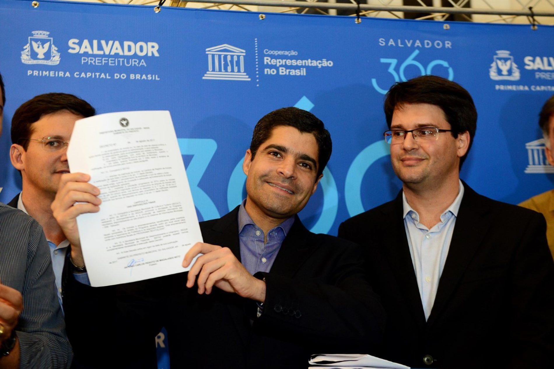 Salvador 360: Prefeitura lança maior programa para desenvolvimento do Centro Histórico
