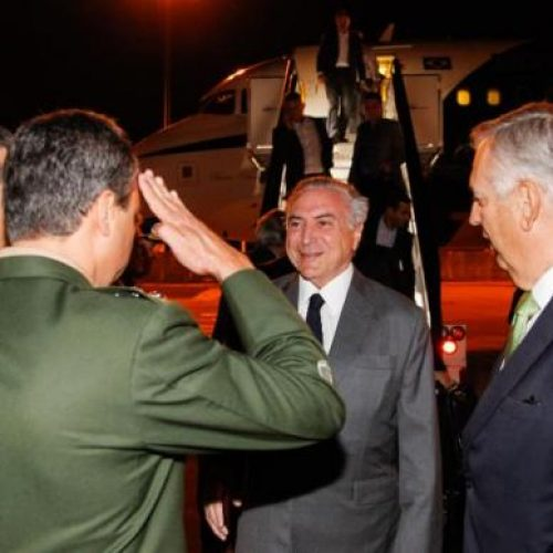 A caminho da China, Temer se reúne em Lisboa com presidente de Portugal