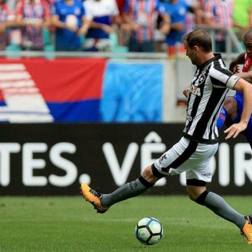 Bahia leva gol nos acréscimos e perde para o Botafogo por 2×1 na Arena Fonte Nova