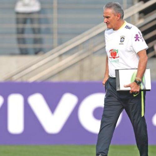Tite faz três mudanças na seleção para jogo com a Bolívia