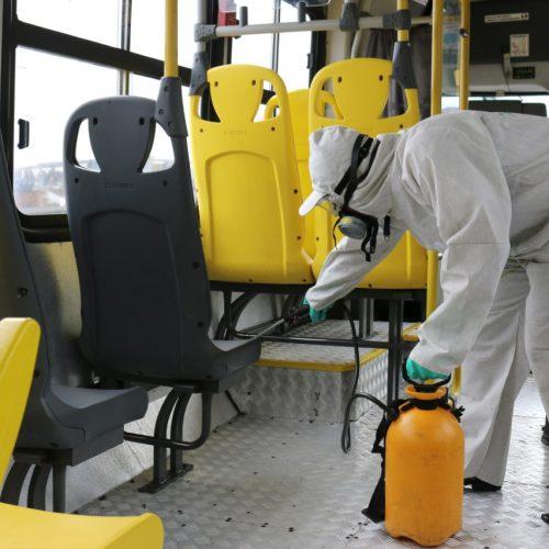 Ônibus de Salvador recebem dedetização periódica
