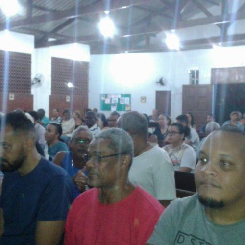 Doron recebe visita da Base Comunitária de Narandiba