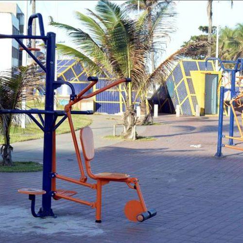 Salvador: Equipamentos de praças e espaços públicos são substituídos após vandalismo