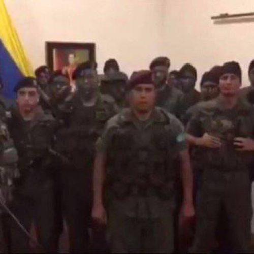 Governo Venezuelano reprime rebelião militar