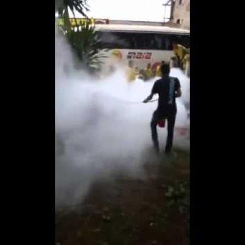 Homem surta e joga gasolina no próprio corpo Vitória da Conquista