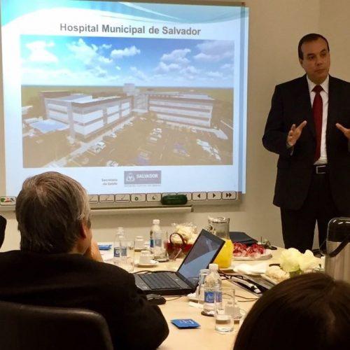 Hospital Municipal de Salvador é apresentado para organizações Sociais paulistas
