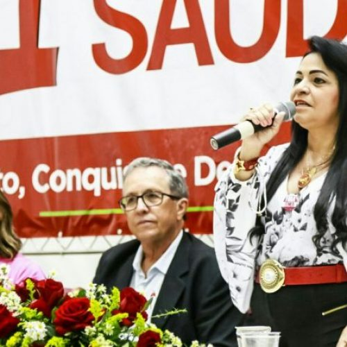 Lauro de Freitas: Moema destaca compromissos da gestão na abertura da Conferência de Vigilância em Saúde