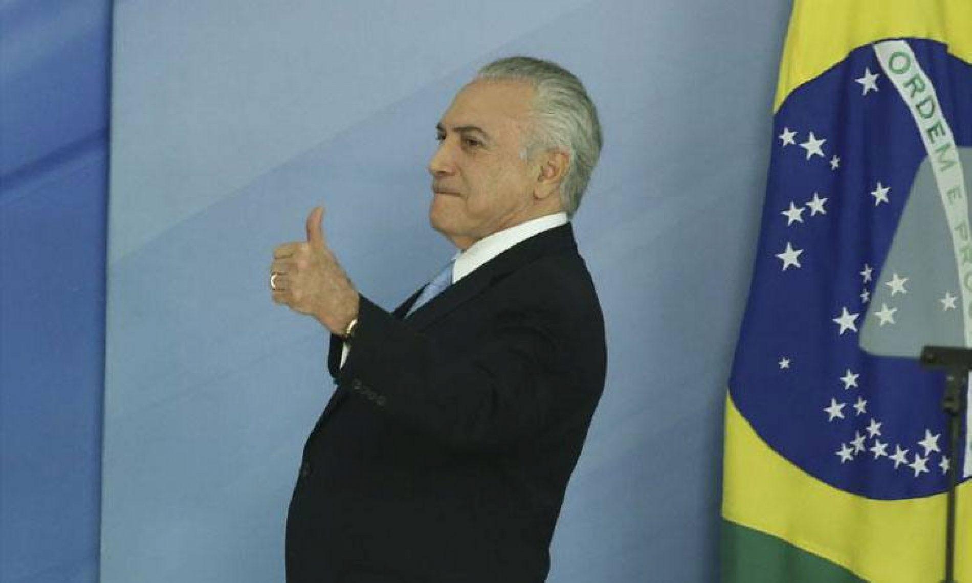 PMDB suspende deputados que votaram a favor de denúncia contra Temer