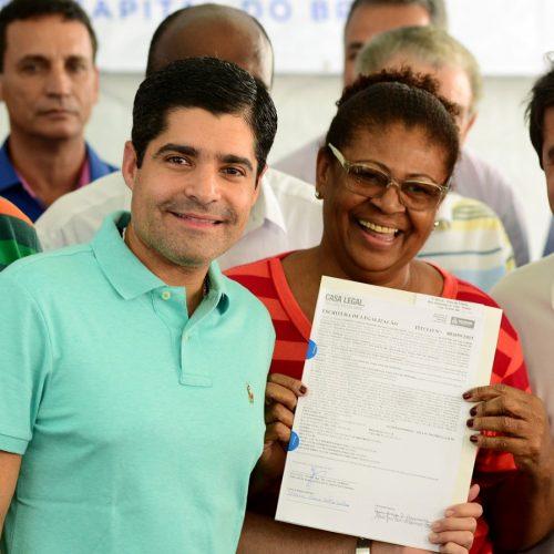 Prefeitura deverá conceder mais 30 mil escrituras em Salvador até 2020