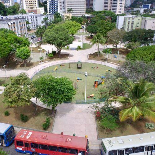 Salvador: Prefeitura entrega praça no Vale dos Rios nesta quarta-feira
