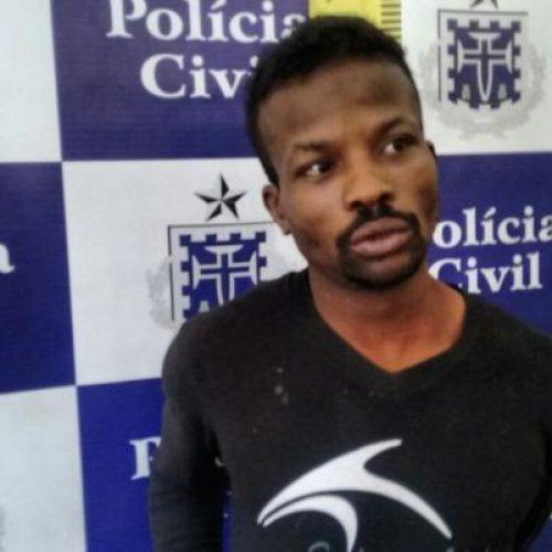 Preso acusado de praticar mais de 50 assaltos à lojas em Feira de Santana