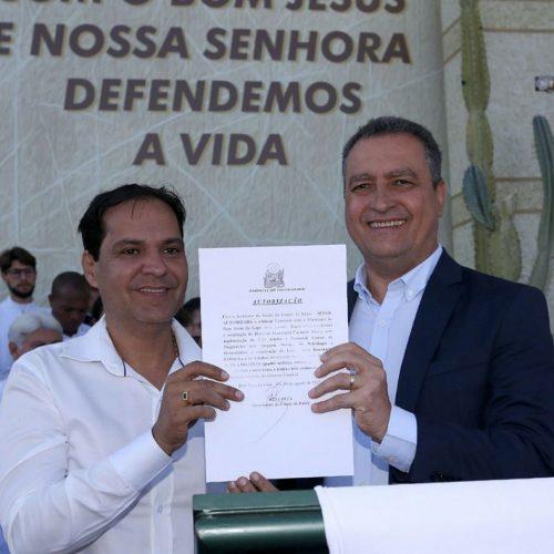 Rui autoriza convênio de R$ 4 milhões para a saúde em Bom Jesus da Lapa