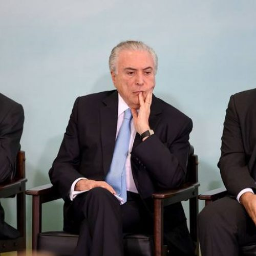Temer faz reunião com presidentes da Câmara e do Senado sobre Previdência
