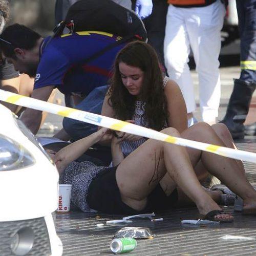 O terror em vídeos. Veja registros do atentado em Barcelona