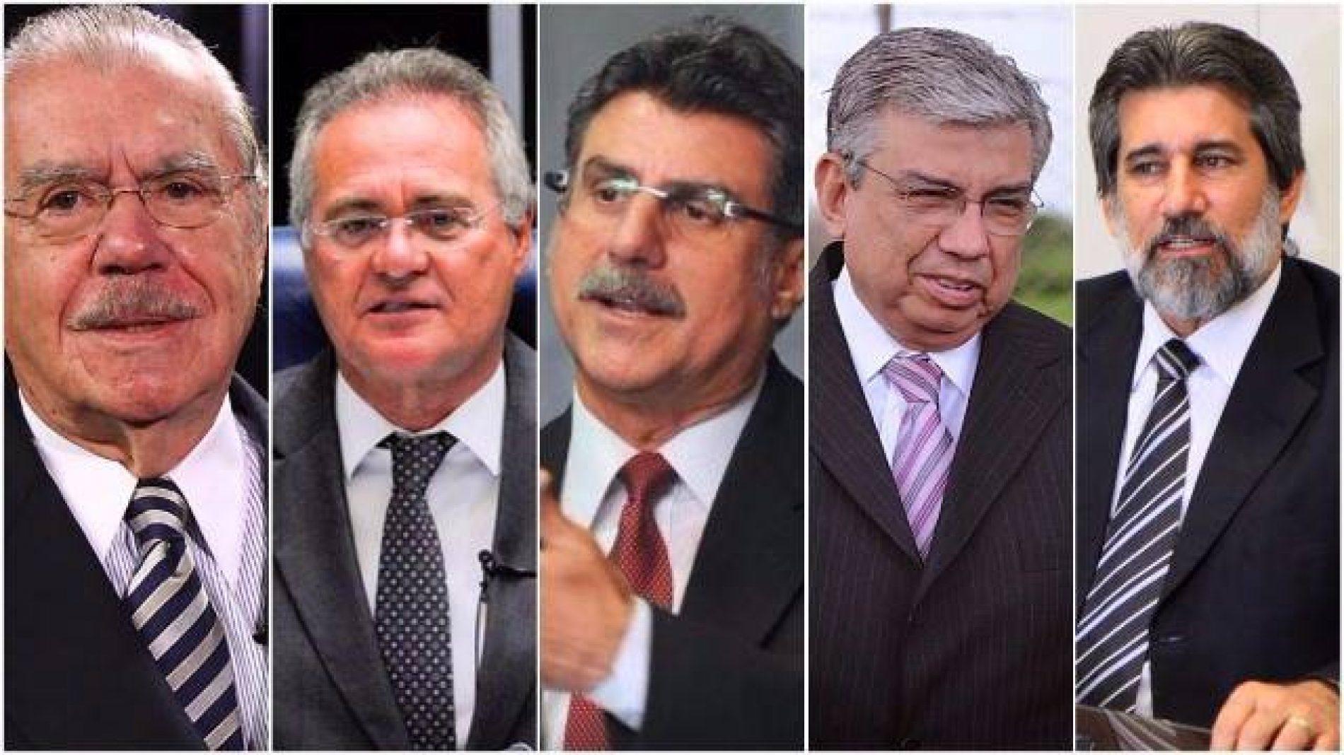 Janot denuncia Renan, Jucá, Sarney e mais 6 por corrupção e lavagem