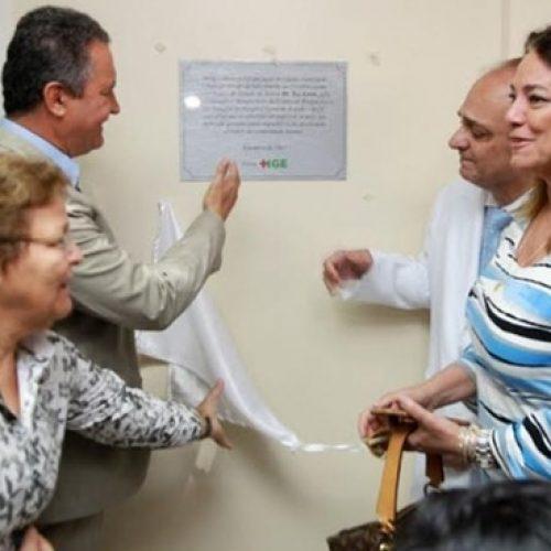 Rui inaugura Centro de Bioimagem do Hospital Geral do Estado