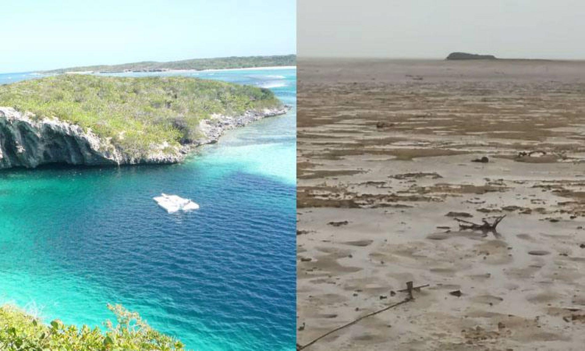 Impressionante! Furacão Irma suga água do oceano e destrói paraíso no Caribe; veja vídeo