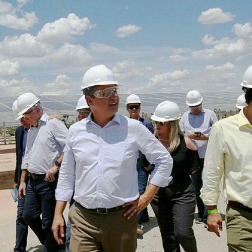 Inaugurado na Bahia o maior parque de energia solar do país, construído em Bom Jesus da Lapa