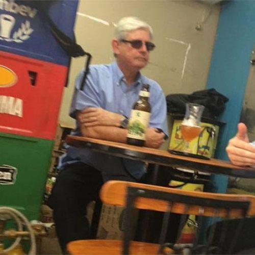 Janot é flagrado com advogado de Joesley em bar de Brasília