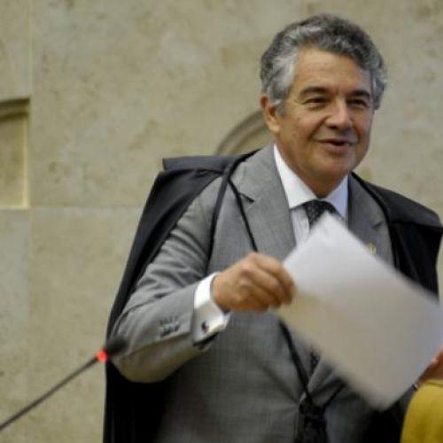Ministro Marco Aurélio vota pelo envio de denúncia sobre Temer à Câmara