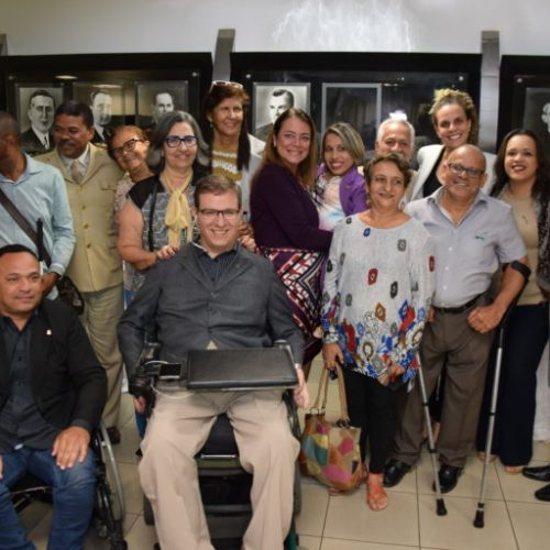 Pessoas com Deficiência celebram o Dia Nacional de Luta na Assembleia Legislativa