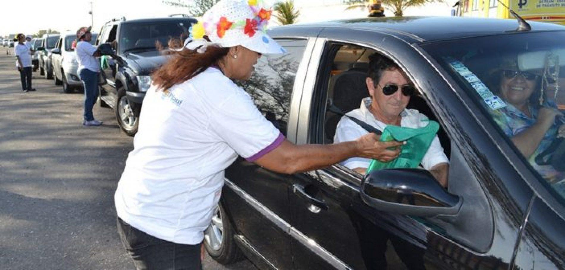 Detran realiza ações pela valorização da vida na Semana Nacional de Trânsito