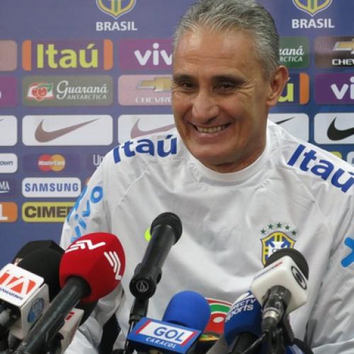 Técnico Tite faz quatro mudanças na Seleção Brasileira para jogo contra a Colômbia
