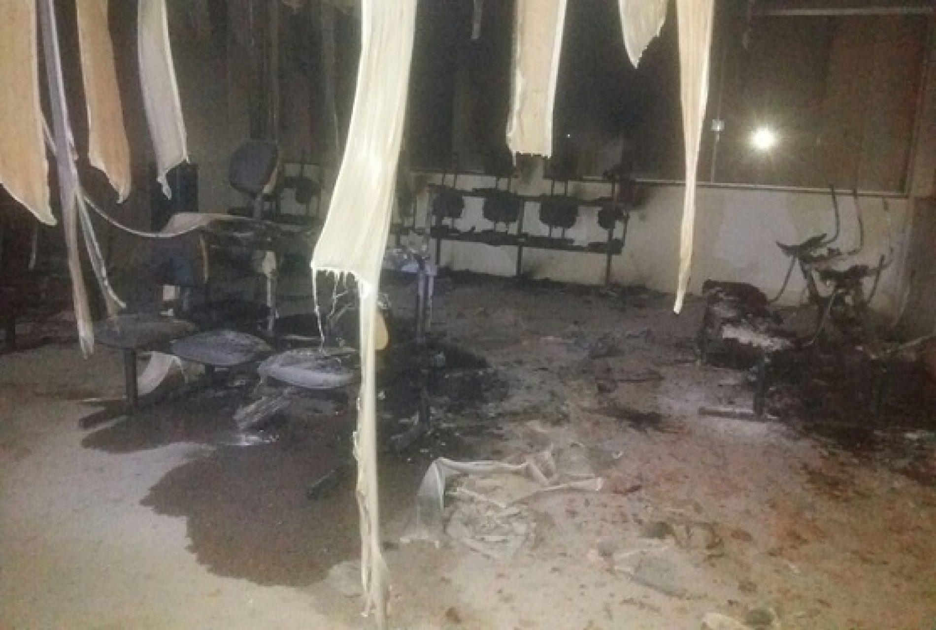 Vale do Jiquiriçá: Unidade de Saúde fica parcialmente destruída após incêndio em Ubaíra