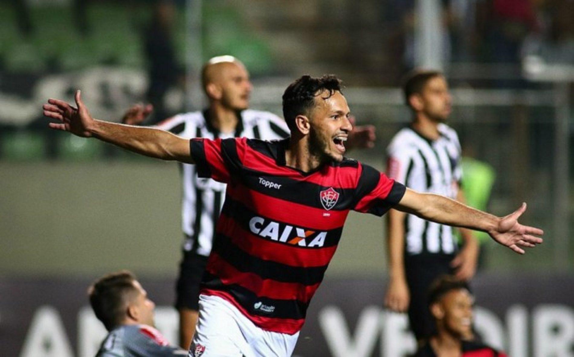 Vitória derruba mais um fora de casa e deixa zona de rabaixamento: 3×1 no Atlético Mineiro