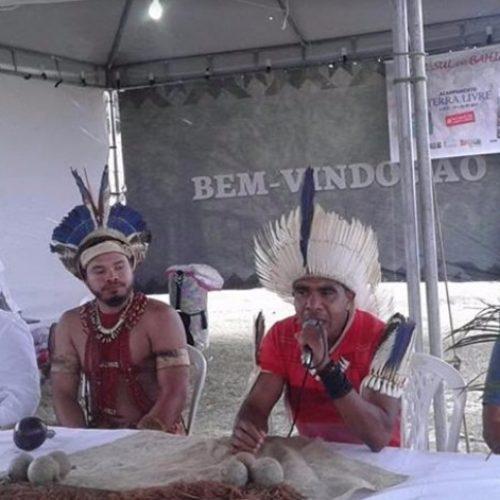 Galo sugere união e resistência de povos tradicionais contra governo Temer