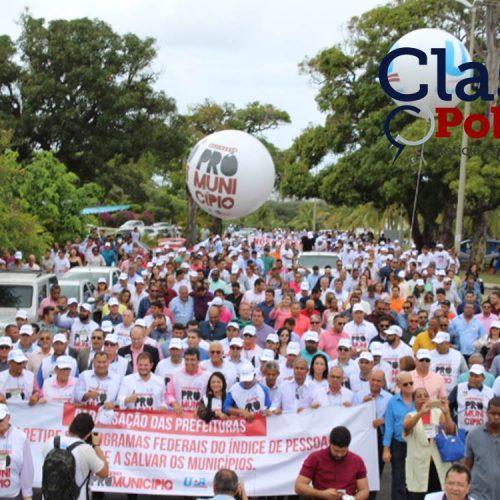"""""""Prefeitos precisam de um aporte financeiro de R$4 bilhões do Governo Federal para quitar dívidas dos municípios"""", diz presidente da UPB; assista"""