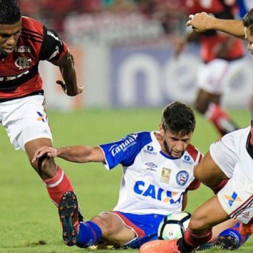 Bahia começa bem, mas desatenção leva à goleada do Flamengo e Tricolor despenca na tabela