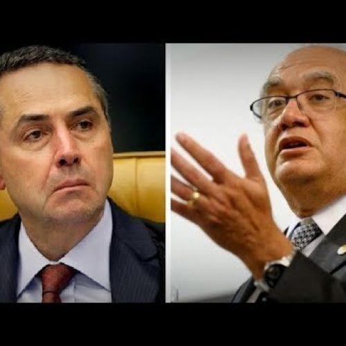 Barroso e Gilmar Mendes batem boca em sessão do STF e vídeo da briga viraliza; assista