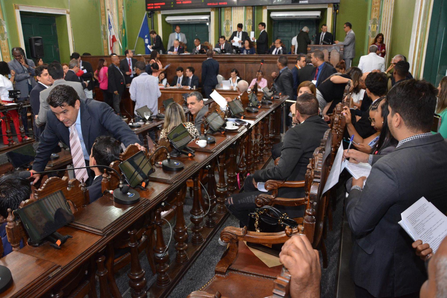 Salvador: Câmara vota hoje projeto que autoriza prefeitura  a contrair empréstimo de R$75 milhões