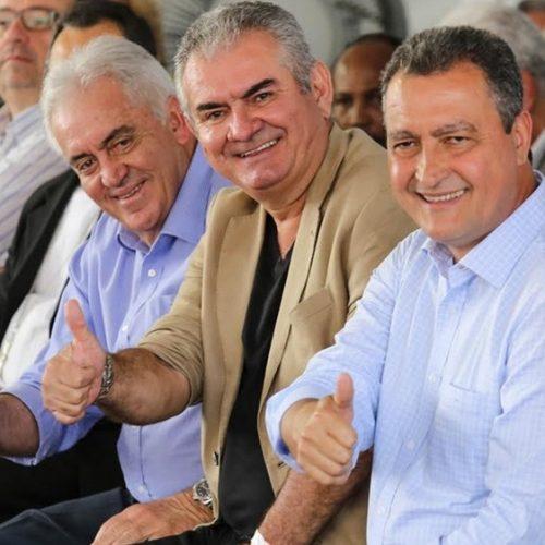 Angelo Coronel participa de arranque da duplicação da rodovia Ilhéus-Itabuna ao lado de Rui Costa